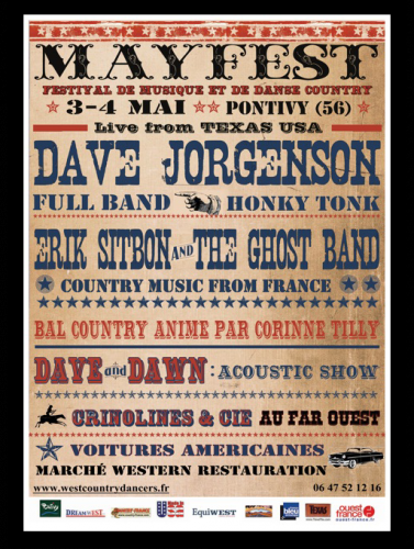 Dave Jorgensen, mayfest, country music, honky tonk music, texas, chanteur texan,