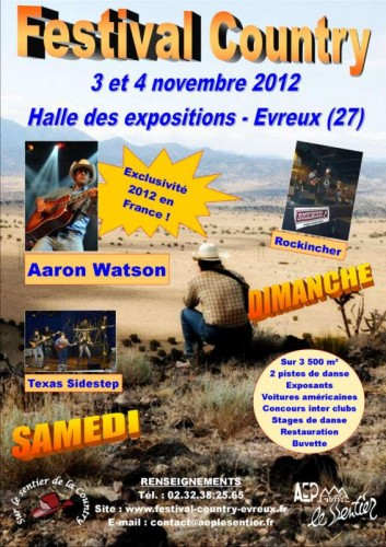 evreux, normandie, eure, festival de country music,