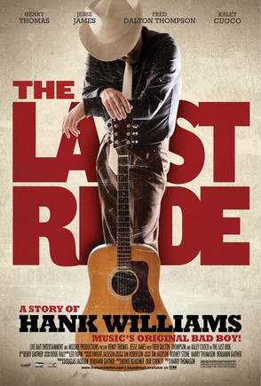the last ride, country music, hank williams, histoire américaine,