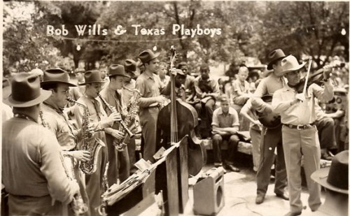 Bob Willis & his texas playboys, western swing, country music, texas, salle de bal,